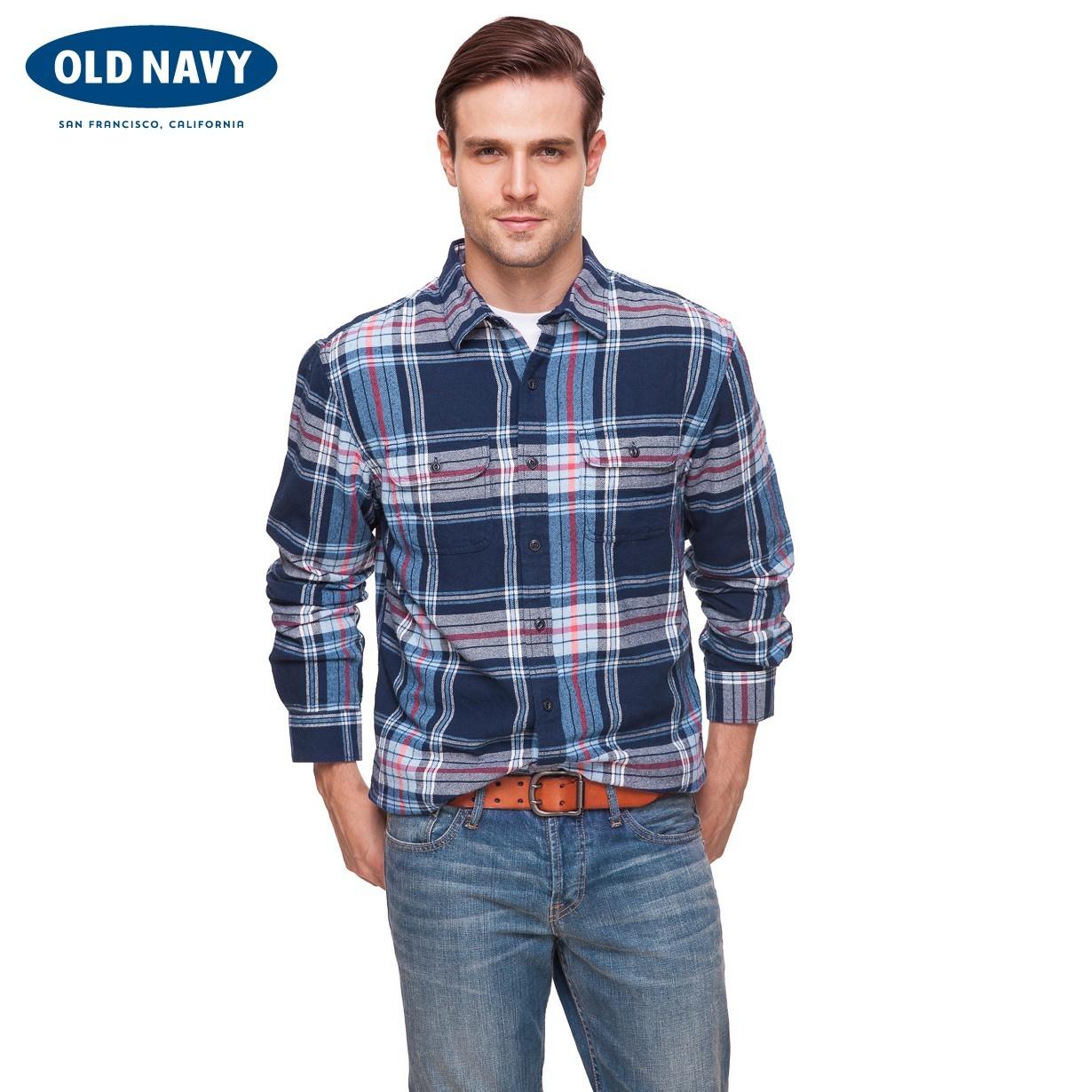 Рубашка мужская OLD NAVY 000119313 119313 джинсы мужские navy old