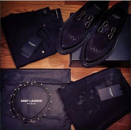все цены на Демисезонные ботинки   SLP SAINT LAURENT PARIS GD