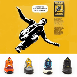 OLLO-ZERO促销仅售269元,专业跑酷鞋,跑步鞋。