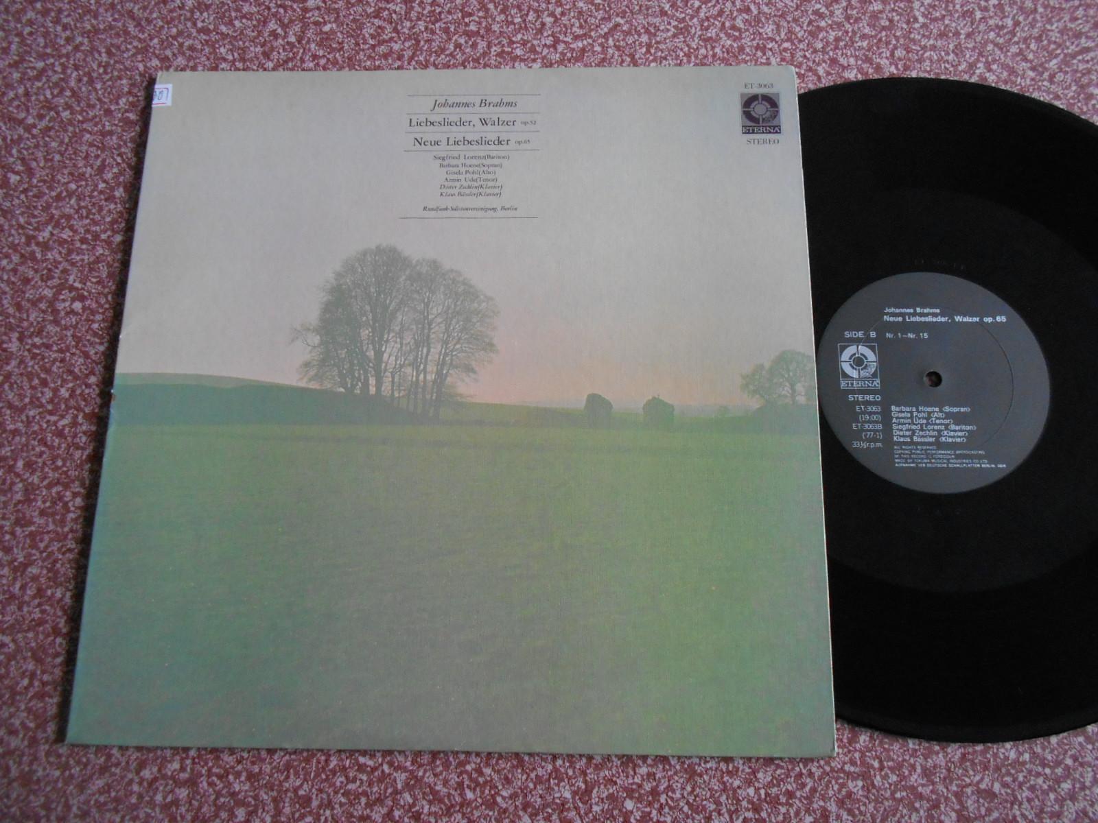 Граммофонная пластинка   Liebeslieder Walzer Op LP P462 граммофонная пластинка weitblick sss0011 2