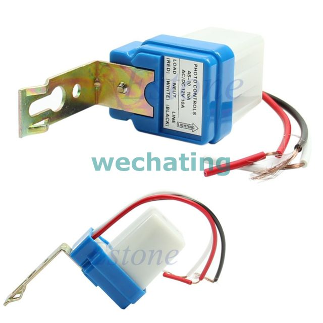 периферийные устройства USB AC DC 12V 10A Auto On Off Photocell Street Light Photoswitc waterprooof auto street lamp switch photoelectric automatic switches as20 ac220v 10a