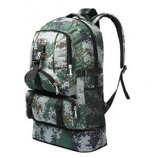 迷彩旅行背包超大容量60