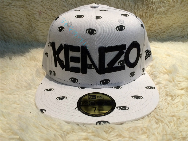 Головной убор New Exo baseball hat hater 40oz Korean version of Kenzo eyes men and women spring/summer hip hop hats EXO KENZO HATER 40OZ the new 2015 autumn winter cap hat knitted hats for men and women tide restoring ancient ways cap