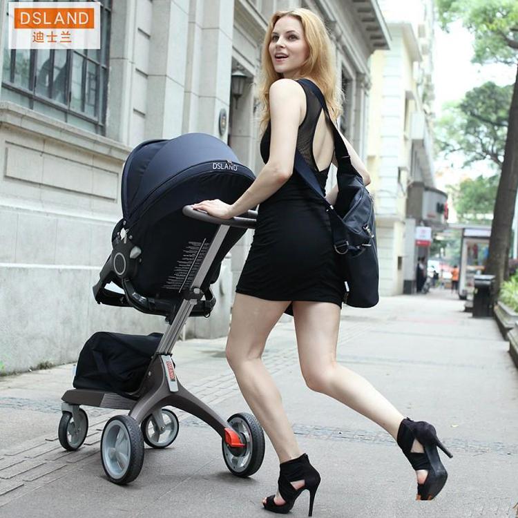 Четырёхколёсная коляска Dsland четырёхколёсная коляска babysing