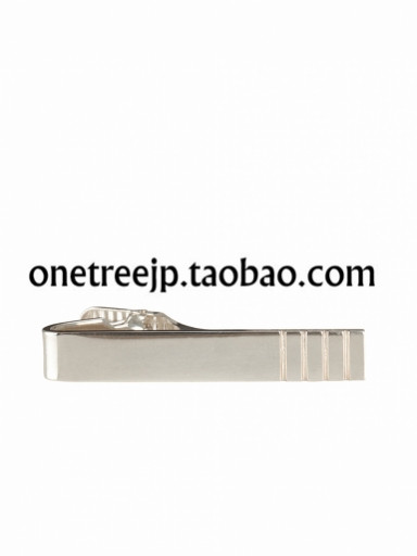 Зажим для галстука Thom browne.  ENGRAVED SHORT/LONG TIE BAR