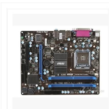 Материнская плата MSI G41M-P43 COMBO DDR2 DDR3 775 G41 куплю материнскую плату socket 775 p43
