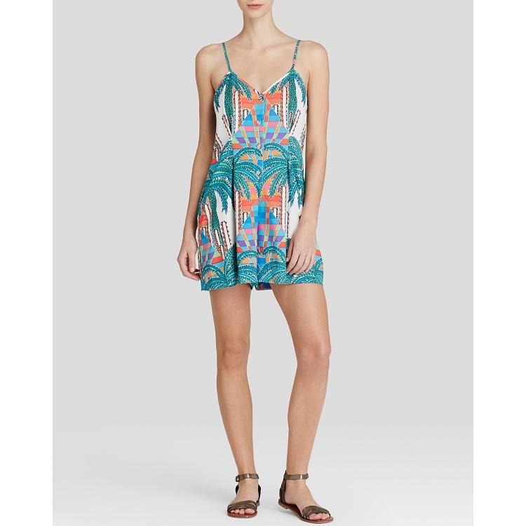 Женское платье Mara hoffman q01541496 mara hoffman пляжное платье