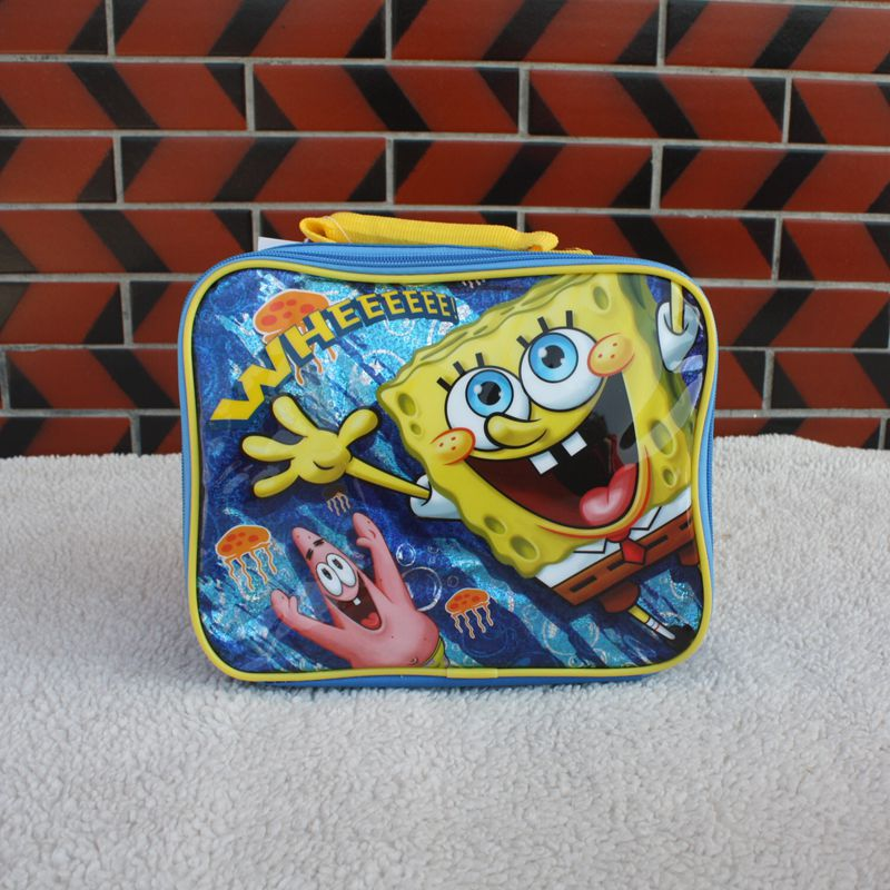 сумка холодильник SpongeBob SquarePants b98098 2015 cute spongebob squarepants figure plush backpack school bag style assorted