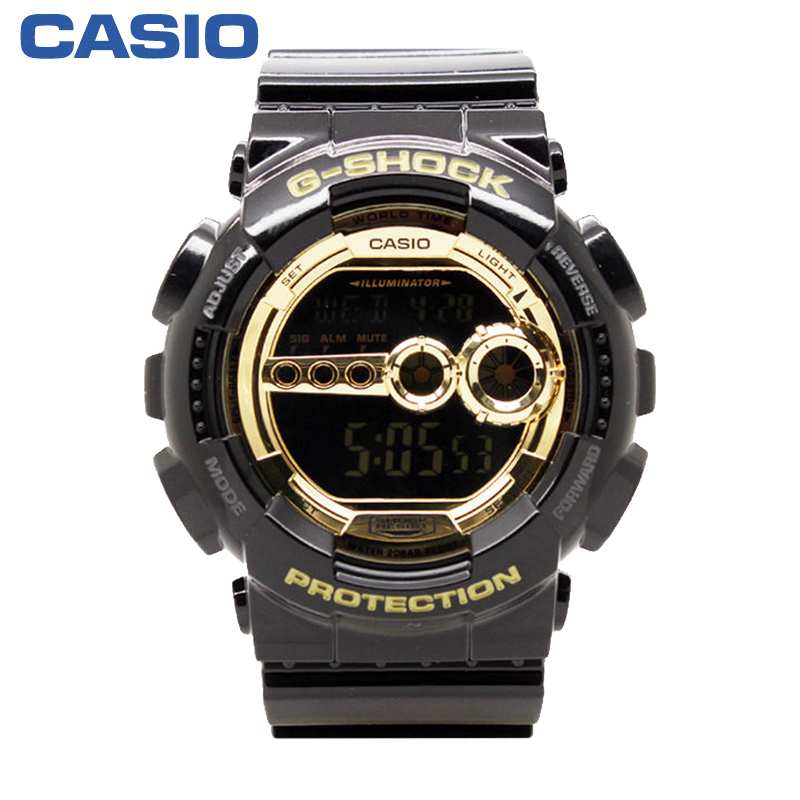 Часы CASIO  G-SHOCK GD-100GB-1D часы casio gd 120cm 5e