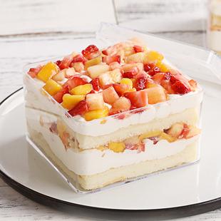 5只!水果千层蛋糕盒亏本