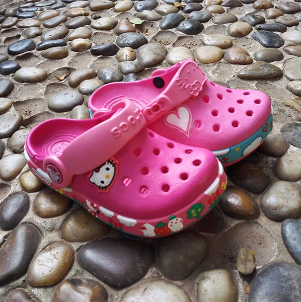 Кроксы OTHER  Kitty Crocs кроксы crocs 14384