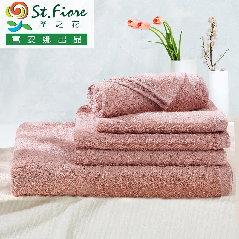 富安娜家纺柔软浴巾方巾94020003001