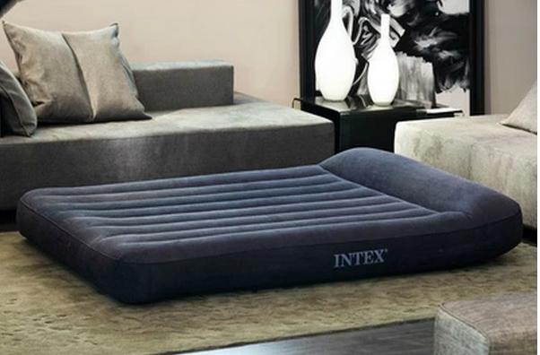 надувная кровать Intex надувная лодка intex challenger 193х108х38см 68365