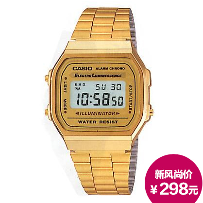 Часы CASIO DIGITAL A168WG-9