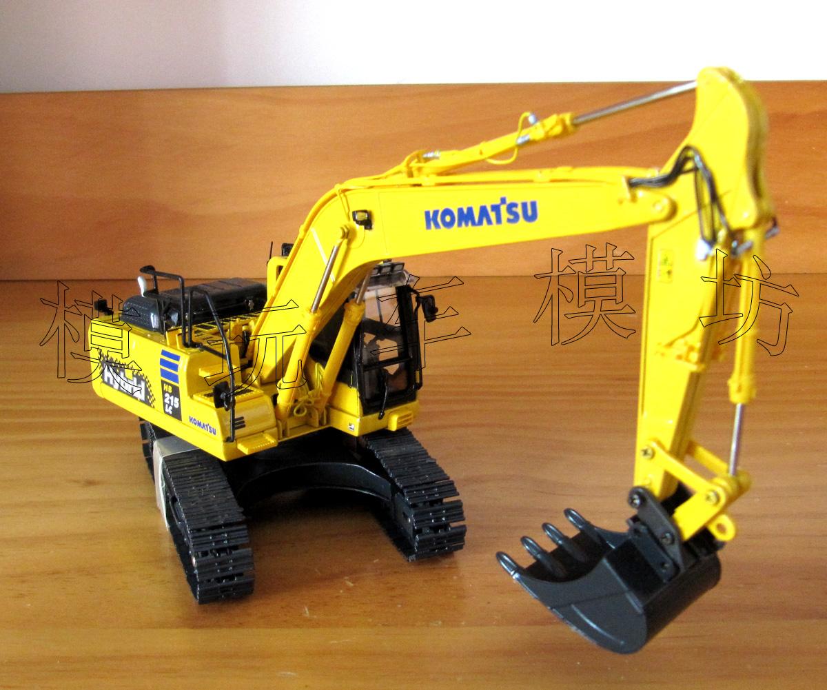 Модель машины Universal hobbies  UH Komatsu HB215 LC Hybird 1:50 8095 куплю запчастей б у к komatsu
