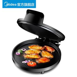 美的电饼铛电饼档家用双面加热烙饼锅正品自动断电新款加深煎饼机