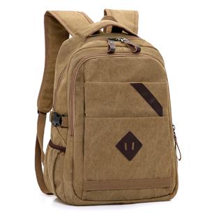 双肩包男韩版潮流青年男士帆布背包休闲包旅行包新款中大学生书包