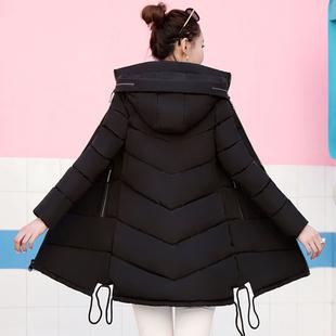 天天特价新款冬衣羽绒棉衣外套韩版女中长款时尚棉服学生加厚大码