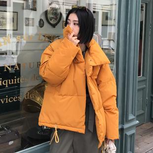2018新款冬季外套chic棉袄ins面包羽绒棉服女短款oversize棉衣潮