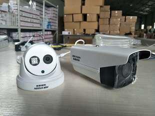 天视通芯片海康H265 高清夜视 200万网络红外摄像头不带POE
