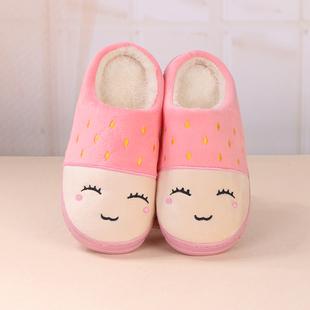 买1送1棉拖鞋女冬情侣室内家居家防滑可爱保暖鞋月子毛拖鞋男冬天