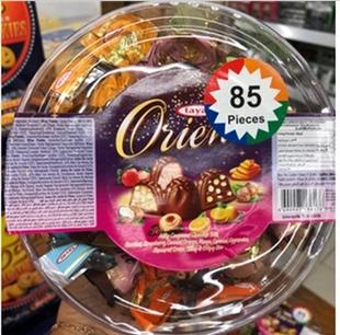 包邮香港进口土耳其tayas泰雅丝榛子什锦巧克力糖果1000g休闲零食