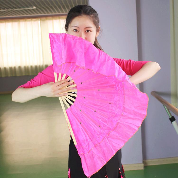 舞蹈广场竹扇跳舞扇木兰田径扇扇子荷叶舞蹈扇秧歌运动员v舞蹈成绩表图片