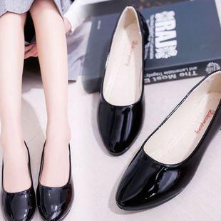 韩版春夏季大东同款女鞋单鞋女低跟糖果色小皮鞋学生鞋尖头单鞋子