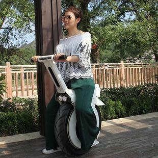 电动独轮摩托车单轮平衡车成人越野智能体感代步车独轮车可坐大轮