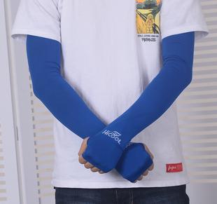 夏季防晒手套男防紫外线长袖套大码防晒男袖骑行开车袖套手臂套袖