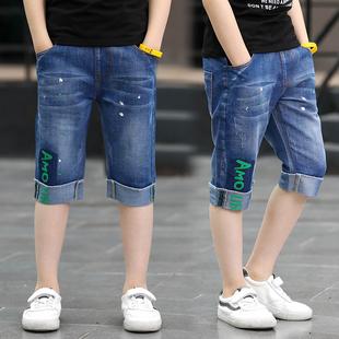 夏装六一节礼物男童短裤1米1至1米2/3/4/5夏装中大童装12岁儿童可
