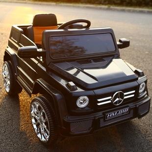 越野儿童电动车四轮童车可摇摆坐人双驱动宝宝玩具电瓶汽车带遥控