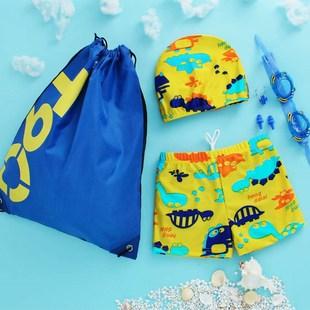 儿童泳衣女孩2女童3宝宝4幼儿5连体平角6公主裙式1-8岁小童游泳衣