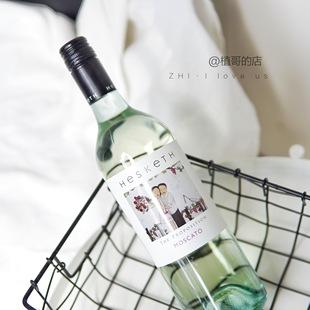 澳洲进口酒Hesketh蜜月期纪念日气泡甜白葡萄酒起泡酒