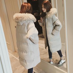 15冬装12少女装冬中长款羽绒服13初中学生16岁女孩18外套棉衣棉服