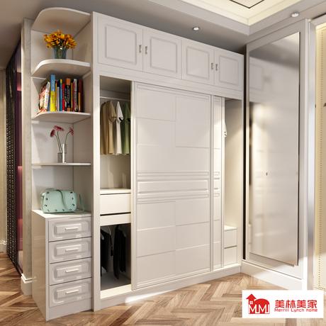【移门推拉门衣柜】_欧式趟门衣柜图片_欧式木质衣柜价格_搭配分享