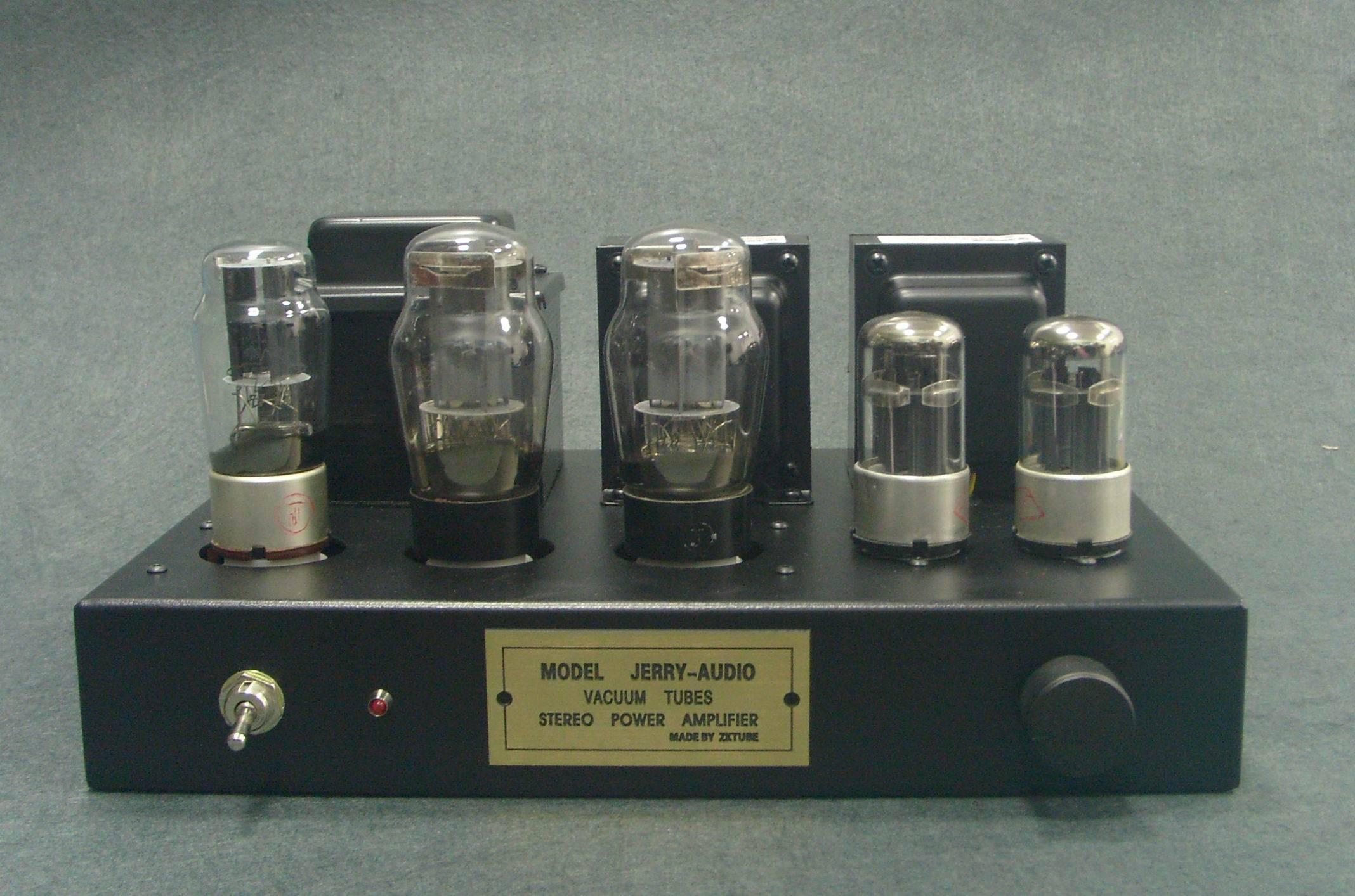 Ламповый усилитель 6P3P 6L6