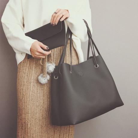 【新款水桶包】_单肩时尚斜挎包图片