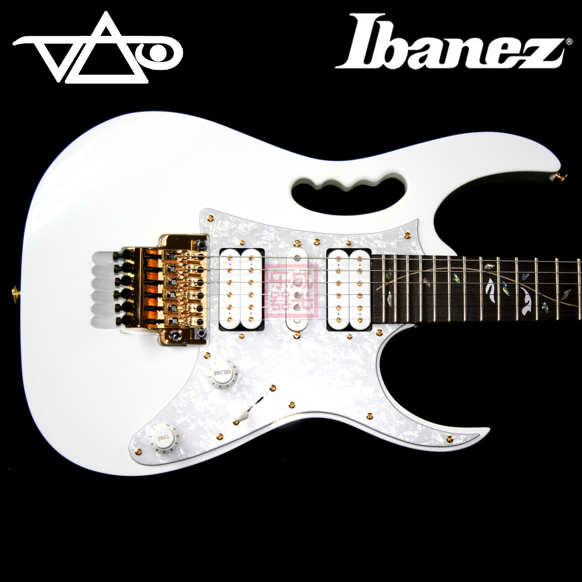 Электрогитара Ibanez  JEM 7V WH Steve Vai kalencom buckle bag monique powder pink