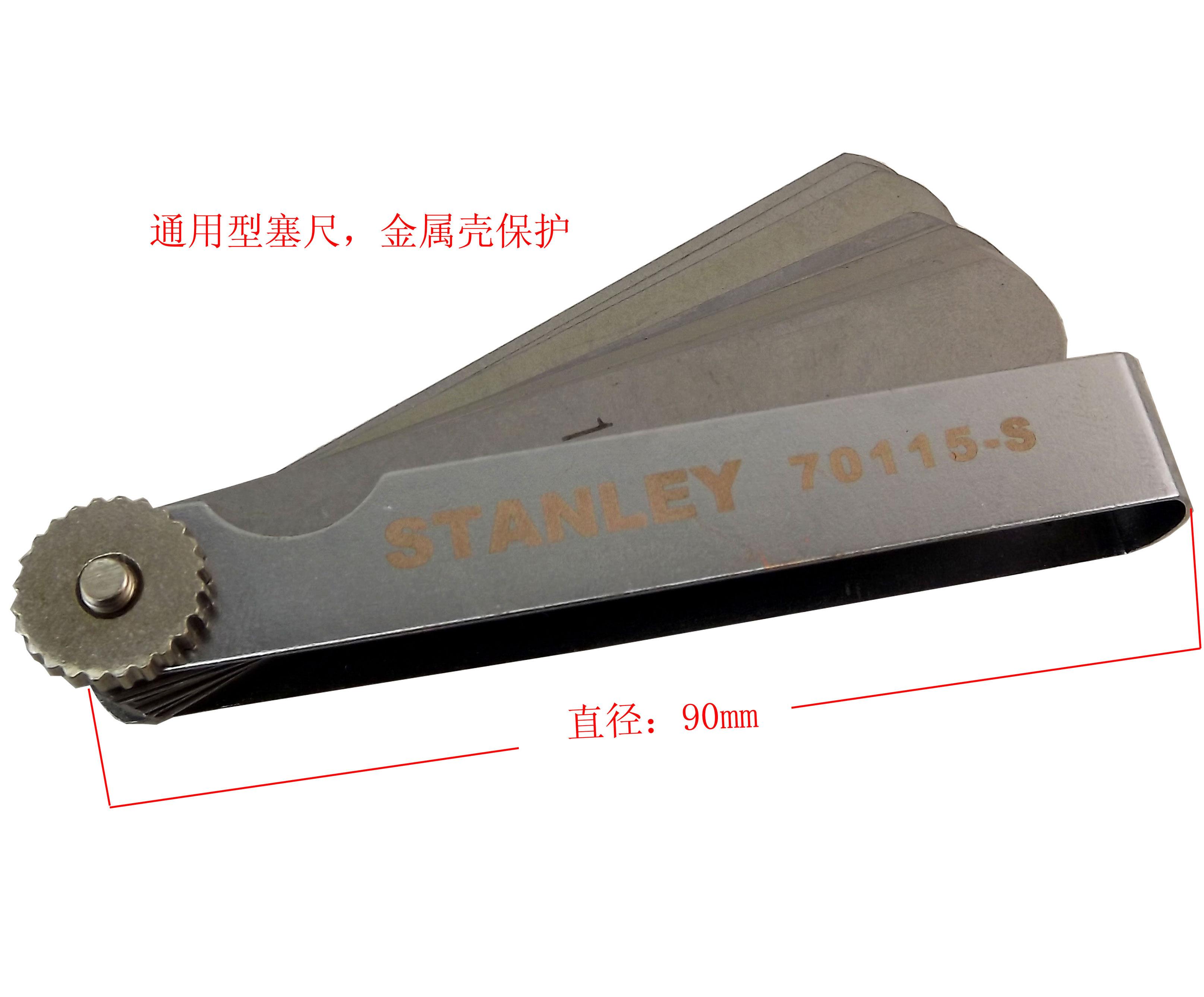 Щуп измерительный Stanley 25 0.04-1.00MM 70115-S vintage rhinestone water drop geometric necklace jewelry for women
