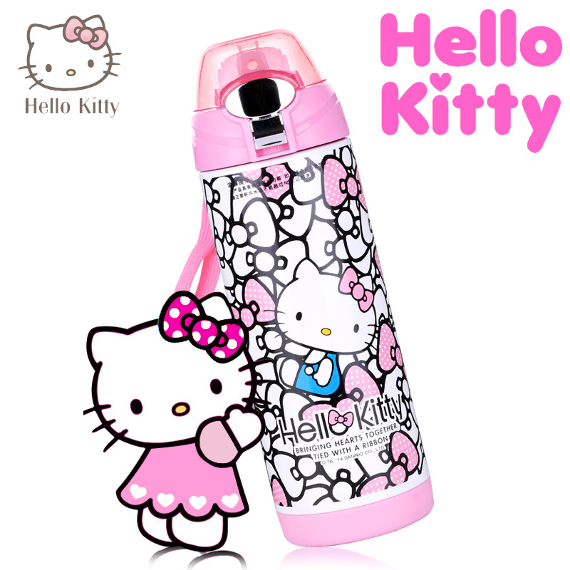 Термос/термочашка Hello kitty Hellokitty 2017 hello kitty cartoon watches kid girls leather straps wristwatch children hellokitty quartz watch montre enfant