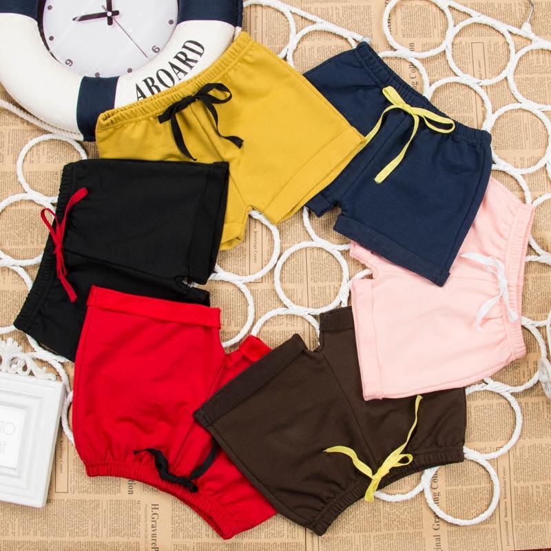 夏季薄款中小儿童短裤男女童纯棉热裤宝宝五分裤子运动外穿沙滩裤