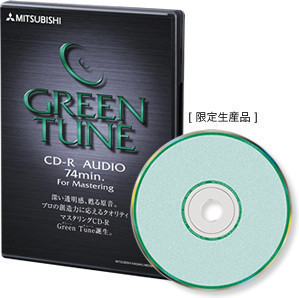 Диски CD, DVD Mitsubishi Electric  GREEN TUNE FOR AUDIO CD-R диски cd dvd sony dvd r 16x dvd dvd