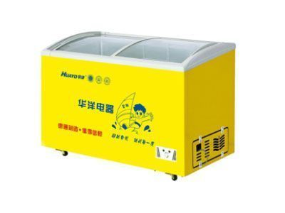 Морозильный шкаф Huayang single temperature arc new refrigerator series SDX--328 sdx 23