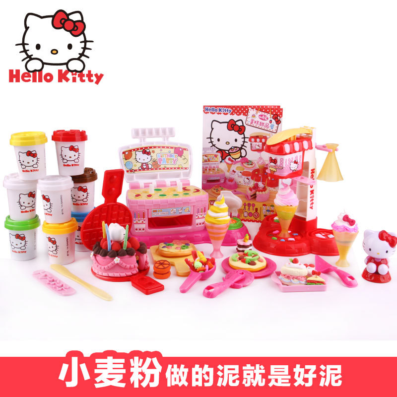 Пластилин Hello kitty KT/8612 KT DIY поильник hello kitty kt 3631