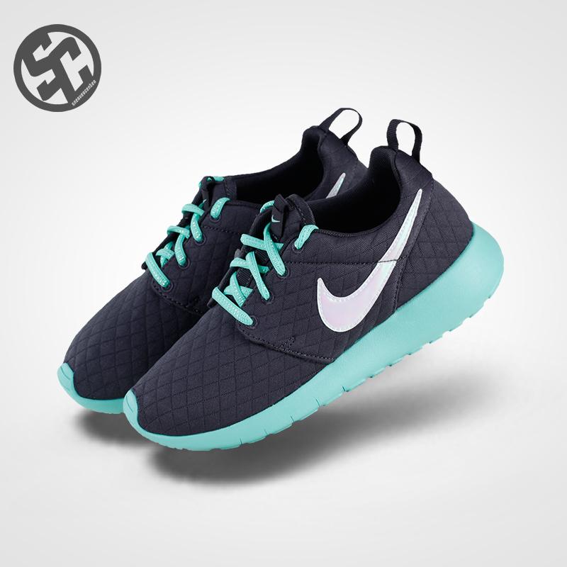 耐克运动鞋 耐克Nike Roshe One SE GS 香奈儿 女鞋休闲运动跑鞋 859609-001_推荐淘宝好看的女耐克运动鞋