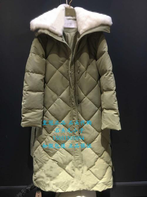 欧时力羽绒服 欧时力55-65折正品2016冬羽绒服1HY4332360-590灰绿-2590-11B_推荐淘宝好看的欧时力羽绒服
