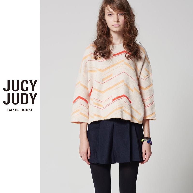 百家好女装 Jucy Judy百家好秋冬新款休闲时尚针织衫女专柜正品JPKT722F_推荐淘宝好看的百家好女
