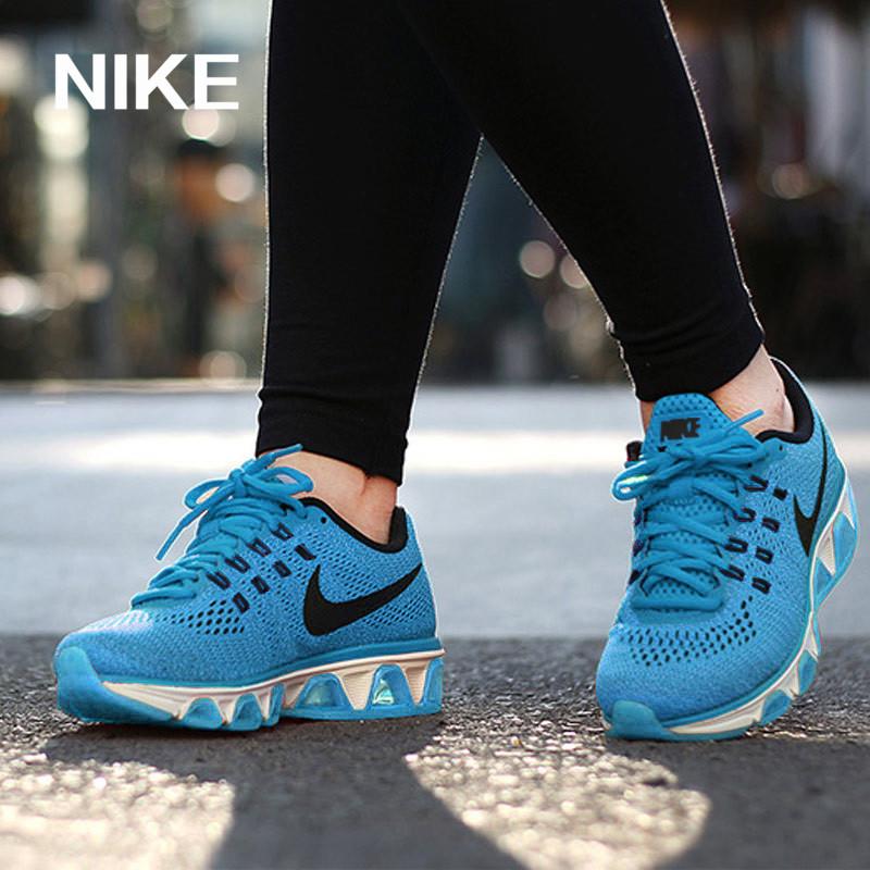 耐克女运动鞋 Nike耐克女鞋2016AIR MAX气垫跑步鞋增高休闲透气运动鞋805942_推荐淘宝好看的女耐克女运动鞋
