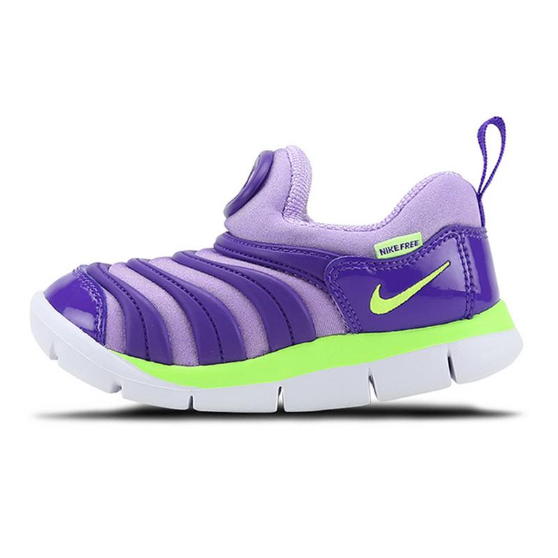 耐克运动鞋 NIKE耐克男女童鞋DYNAMO FREE毛毛虫运动跑步鞋343938_推荐淘宝好看的女耐克运动鞋